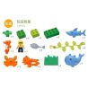 Hystoys Hongyuansheng Aoleduotoys HG-1501 (NOT Lego Duplo Arctic ) Xếp hình Thế Giới Đáy Biển 13 khối
