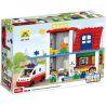 Hystoys Hongyuansheng Aoleduotoys HG-1272 (NOT Lego Duplo 5695 Doctor's Clinic ) Xếp hình Phòng Khám Bác Sỹ 60 khối