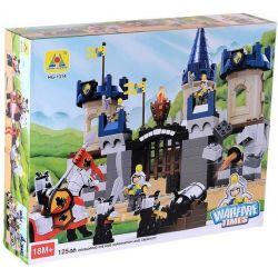 Hystoys Hongyuansheng Aoleduotoys HG-1314 (NOT Lego Duplo 4864 Castle ) Xếp hình Lâu Đài Trung Cổ 280 khối