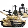 Xinlexin Gudi 600019A (NOT Lego Military Army T-62 Tank ) Xếp hình Xe Tăng T-62 Của Liên Xô 372 khối