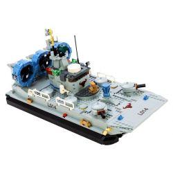 GUDI 8027 Xếp hình kiểu Lego MILITARY ARMY The Bison Hovercraft Navy Team Tàu đệm Khí Zubr Bison 928 khối