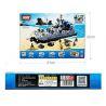 Xinlexin Gudi 8027 (NOT Lego Military Army Zubr Bison Hovercraft ) Xếp hình Tàu Đệm Khí Zubr Bison 928 khối