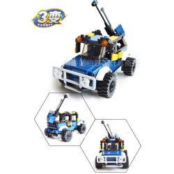 GUDI 8111 Xếp hình kiểu Lego CREATOR 3 IN 1 Robots Transform Automotive Rô Bốt Biến Hình ô Tô 148 khối