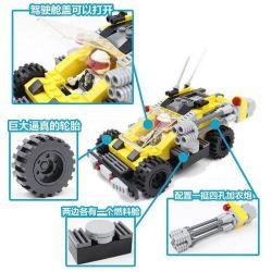 GUDI 8211 Xếp hình kiểu Lego Earth Border Meteor Light Brake, Bee Reconnaissance Machine ô Tô Chiến đấu Cùng Robot Ong 185 khối