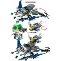 GUDI 8212 Xếp hình kiểu Lego EARTH BORDER Earth Border Tàu Lặn Biển 180 khối