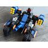 Xinlexin Gudi 8214 (NOT Lego Star wars Blazing Extreme ) Xếp hình Xe Pháo 4 Bánh 223 khối
