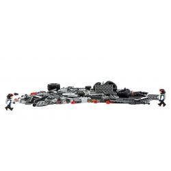 GUDI 8215 Xếp hình kiểu Lego EARTH BORDER Earth Border Xe Thiết Giáp địa Hình Gắn Pháo 296 khối
