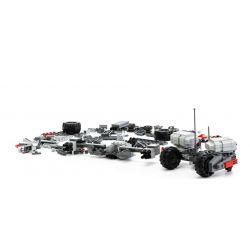 GUDI 8215 Xếp hình kiểu Lego Earth Border Phantom Strong Attack Xe Thiết Giáp địa Hình Gắn Pháo 296 khối