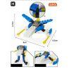 Xinlexin Gudi 8604-8 (NOT Lego Creator 8 in 1 Space Fighter 8 In 1 ) Xếp hình Phi Thuyền Từ 8 Robot Biến Hình 409 khối