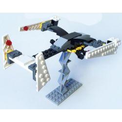 GUDI 8606A Xếp hình kiểu Lego STAR WARS Floating Explorer Phi Thuyền Chiến đấu Không Người Lái Màu đen 71 khối