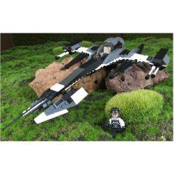 GUDI 8612 Xếp hình kiểu Lego STAR WARS The Phantom X Fighter Phi Thuyền Siêu Tốc 1 Người Lái 184 khối