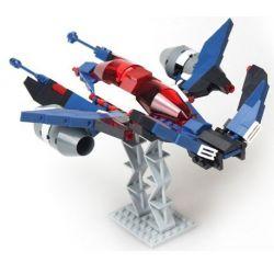 GUDI 8613 Xếp hình kiểu Lego STAR WARS White Inflammation Fighter Phi Thuyền Chiến đấu 2 Người Lái 226 khối