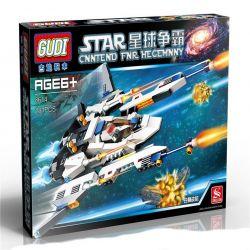 GUDI 8614 Xếp hình kiểu Lego STAR WARS The White Lion Fighter Phi Thuyền Chiến đấu Sư Tử Trắng 281 khối