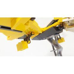 Gudi 8615 Xếp hình kiểu LEGO Star wars Space War Interstellar Transport Phi Thuyền Yểm Trợ Xe Pháo 282 khối
