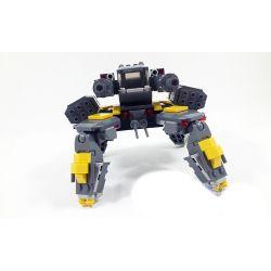 GUDI 8616 Xếp hình kiểu Lego STAR WARS Space War Storms Rocked Rô Bốt Nhện Tác Chiến Xe địa Hình 342 khối