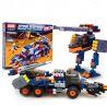 Xinlexin Gudi 8617 (NOT Lego Star wars Space War Assault Tank ) Xếp hình Xe Tải Bọc Thép Chở Robot Bộ Binh 401 khối