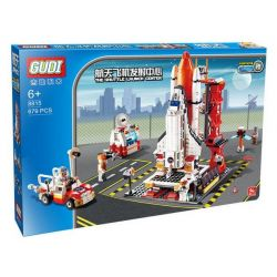 GUDI 8815 Xếp hình kiểu Lego CITY The Shuttle Launch Center Space Shuttle Launch Center Bãi Phóng Tàu Con Thoi 679 khối