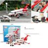 Xinlexin Gudi 8911 (NOT Lego City Airport Vip Service ) Xếp hình Chuyên Cơ Vip Và Xe Limousine 334 khối