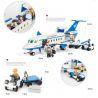 Xinlexin Gudi 8912 (NOT Lego City Airport Passenger Terminal ) Xếp hình Sân Bay Với Máy Bay Chở Khách Cỡ Vừa 652 khối