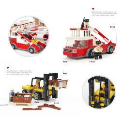 Gudi 8913 Xếp hình kiểu LEGO City Máy Bay Chở Khách Cỡ Lớn Hạ Cánh Xuống Sân Bay 856 khối