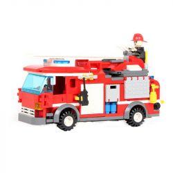 GUDI 9215 Xếp hình kiểu Lego CITY Fire Emergency Xe Thang Cứu Hỏa Chữa Cháy Nhà 431 khối