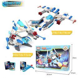 Gudi 9911 Xếp hình kiểu LEGO Transformers Flash Shadow Rô Bốt Biến Hình Tia Chớp đen Bắn đại Bác Tròn 126 khối