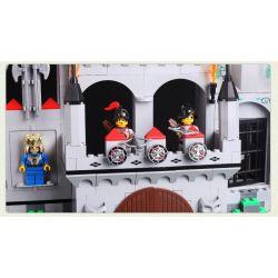Enlighten 1021 Qman 1021 KEEPPLEY 1021 Xếp hình kiểu Lego Castle Knights Flying Eagle Castle Tấn Công Lâu đài đại Bàng 568 khối