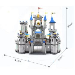Enlighten 1023 Qman 1023 KEEPPLEY 1023 Xếp hình kiểu Lego Castle Knights Lion King Castle Bao Vây Lâu đài Nhà Vua 1393 khối
