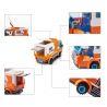 Enlighten 1119 (NOT Lego City Express Courier Station Truck Transport City ) Xếp hình Ô Tô Chuyển Phát Nhanh 337 khối