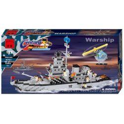 Enlighten 112 (NOT Lego Military Army Warship Aircraft Carrier ) Xếp hình Tàu Chiến Sân Bay 970 khối