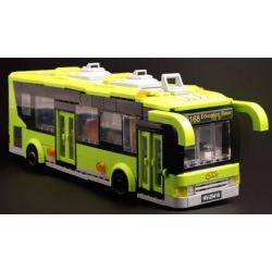 Enlighten 1121 Qman 1121 KEEPPLEY 1121 Xếp hình kiểu Lego CITY City Buses Xe Buýt Thành Phố 418 khối
