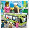 Enlighten 1121 (NOT Lego City 7641 City Corner ) Xếp hình Xe Buýt Thành Phố 483 khối