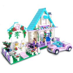 Enlighten 1129 (NOT Lego Friends 40165 Minifigure Wedding Favour Set ) Xếp hình Đám Cưới Hạnh Phúc 613 khối