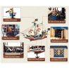 Enlighten 311 (NOT Lego Pirates of the Caribbean Imperial Flagship ) Xếp hình Tàu Vua Cướp Biển 487 khối