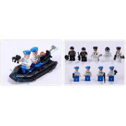 Enlighten 821 Qman 821 KEEPPLEY 821 Xếp hình kiểu Lego MILITARY ARMY CombatZones Missile Cruiser Guided Missile Cruiser Tàu Tên Lửa Tuần Dương Phối Hợp Trực Thăng Chống Ngầm 843 khối