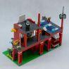 Enlighten 910 (NOT Lego City 10671 Fire Emergency ) Xếp hình Trụ Sở Cứu Hỏa Nhỏ 380 khối