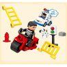 Huimei HM060 (NOT Lego Duplo 4965 Police Action ) Xếp hình Trụ Sở Cảnh Sát Lớn Với Trực Thăng Cùng Ô Tô Cảnh Sát 115 khối