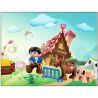 Huimei HM062 (NOT Lego Duplo 5649 Big Farm ) Xếp hình Nông Trại Lớn 115 khối