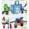 Huimei HM317 (NOT Lego Duplo 5609 Deluxe Train Set ) Xếp hình Tàu Hỏa Động Cơ Pin Và Ray Số 8 116 khối