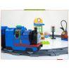 Huimei HM327 (NOT Lego Duplo 5544 Thomas Starter Set ) Xếp hình Tàu Hỏa Động Cơ Pin Thomas Và Ray Hình Tròn 82 khối