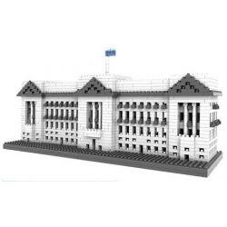 Loz 9374 Nanoblock Architecture Buckingham Palace Xếp hình Cung Điện Buckingham 1540 khối