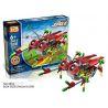 Loz 3014 A0014 (NOT Lego Buildingblocks Jungle Robots Robotic Cicada ) Xếp hình Rô Bốt Ve Sầu Động Cơ Pin gồm 2 hộp nhỏ 122 khối