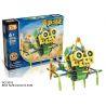 Loz 3016 (NOT Lego Dinosaurs Robots Electric Ceratopsia Dinosaur Robot ) Xếp hình Rô Bốt Khủng Long Ceratopsia Động Cơ Pin 117 khối