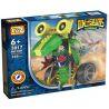 Loz 3017 (NOT Lego Dinosaurs Robots Electric Tyrannosaurus Rex Dinosaur Robot ) Xếp hình Rô Bốt Khủng Long Tyrannosaurus Động Cơ Pin 105 khối