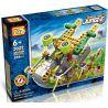 Loz 3022 (NOT Lego Jungle Robots Electric Barefoot Animal Robot ) Xếp hình Rô Bốt 8 Chân Động Cơ Pin Kết Hợp Loz-3011 Và Loz-3012 208 khối