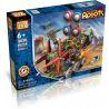 Loz 3030 (NOT Lego OX- Eyed Robots Electric Nether Chariot Robot ) Xếp hình Rô Bốt 4 Mắt Động Cơ Pin Kết Hợp Loz-3027 Và Loz-3028 634 khối