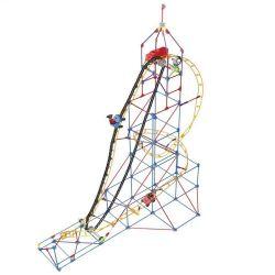 LOZ 2016 Xếp hình kiểu Nanoblock LOZ ELECTRIC AMUSEMENT PARK Electric Amusement Park Crazy Rollercoaster Tàu Lượn Siêu Tốc động Cơ Pin 534 khối có động cơ pin