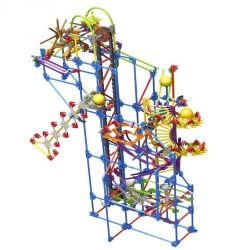 Loz 2017 (NOT Lego Loz Electric Amusement Park Electric Amusement Park Rolling Ball ) Xếp hình Hệ Thống Máng Lăn Bi Động Cơ Pin 902 khối