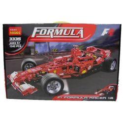 Bela 9604 Lari 9604 Decool 3335 Jisi 3335 Xếp hình kiểu Lego RACERS Ferrari F1 Racer 1 8 Ferrari F1 Racing 1 8 Xe đua Công Thức 1 Tỉ Lệ 1 8 1246 khối