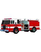 Xe cứu hỏa chữa cháy điều khiển từ xa